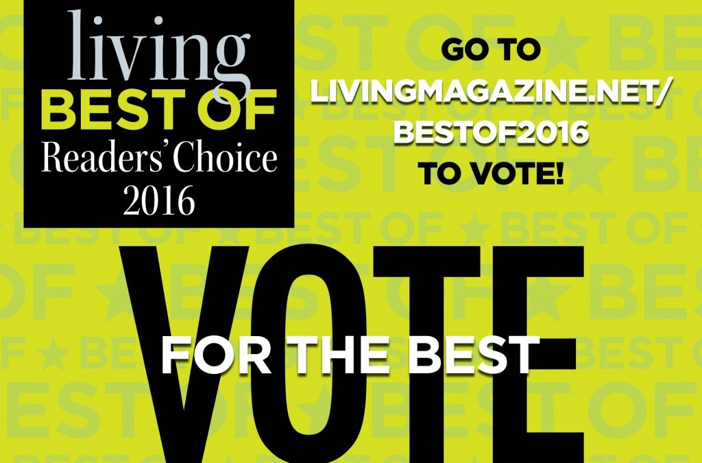 Living Magazine 2016 Best Of Readers Choice