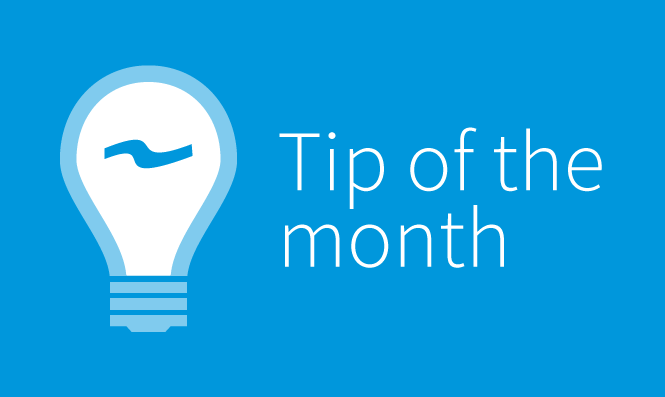 January Tip of the Month